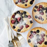 Berry Almond Tarts