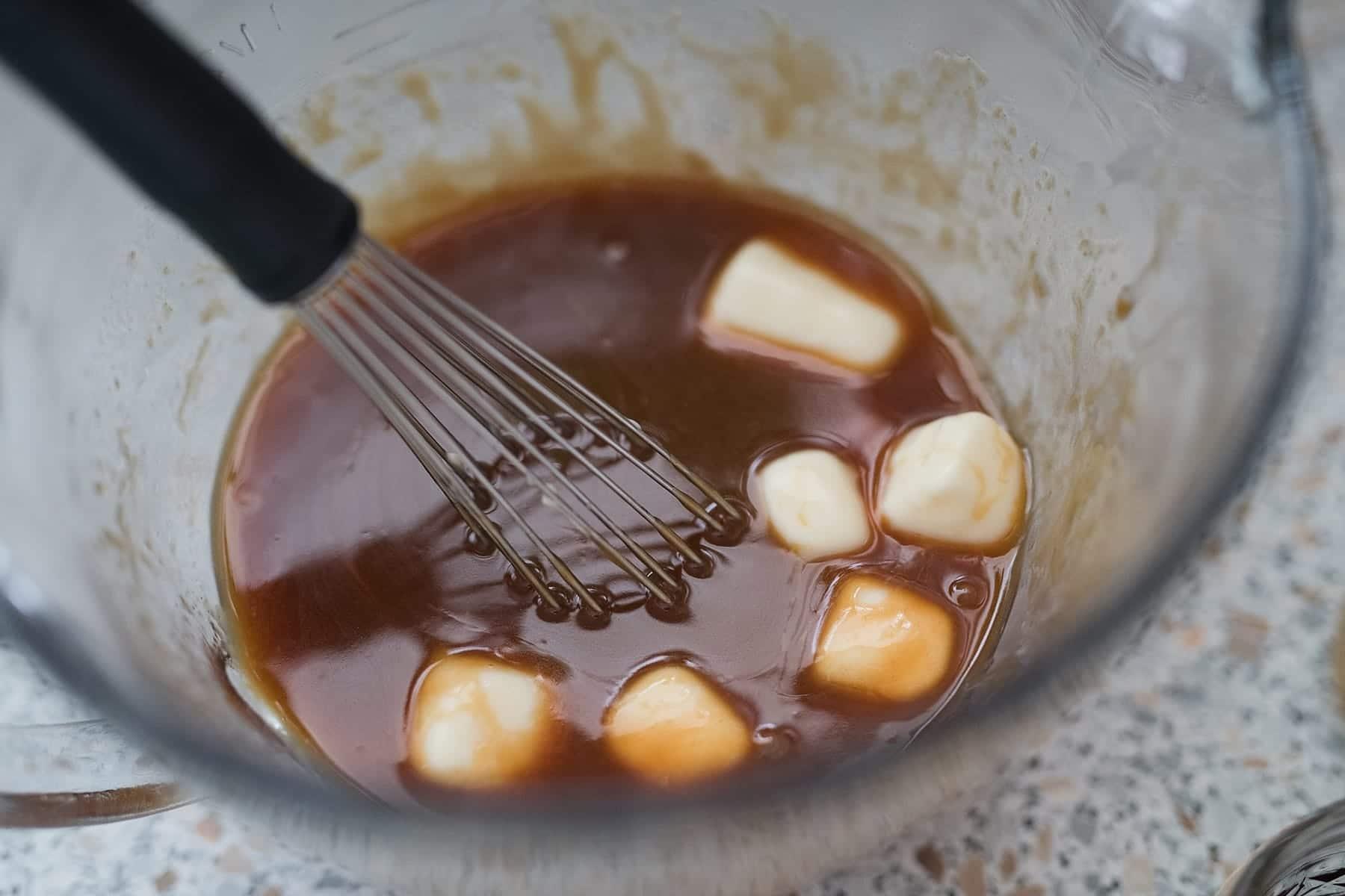 Whiskey Bourbon Caramel Sauce