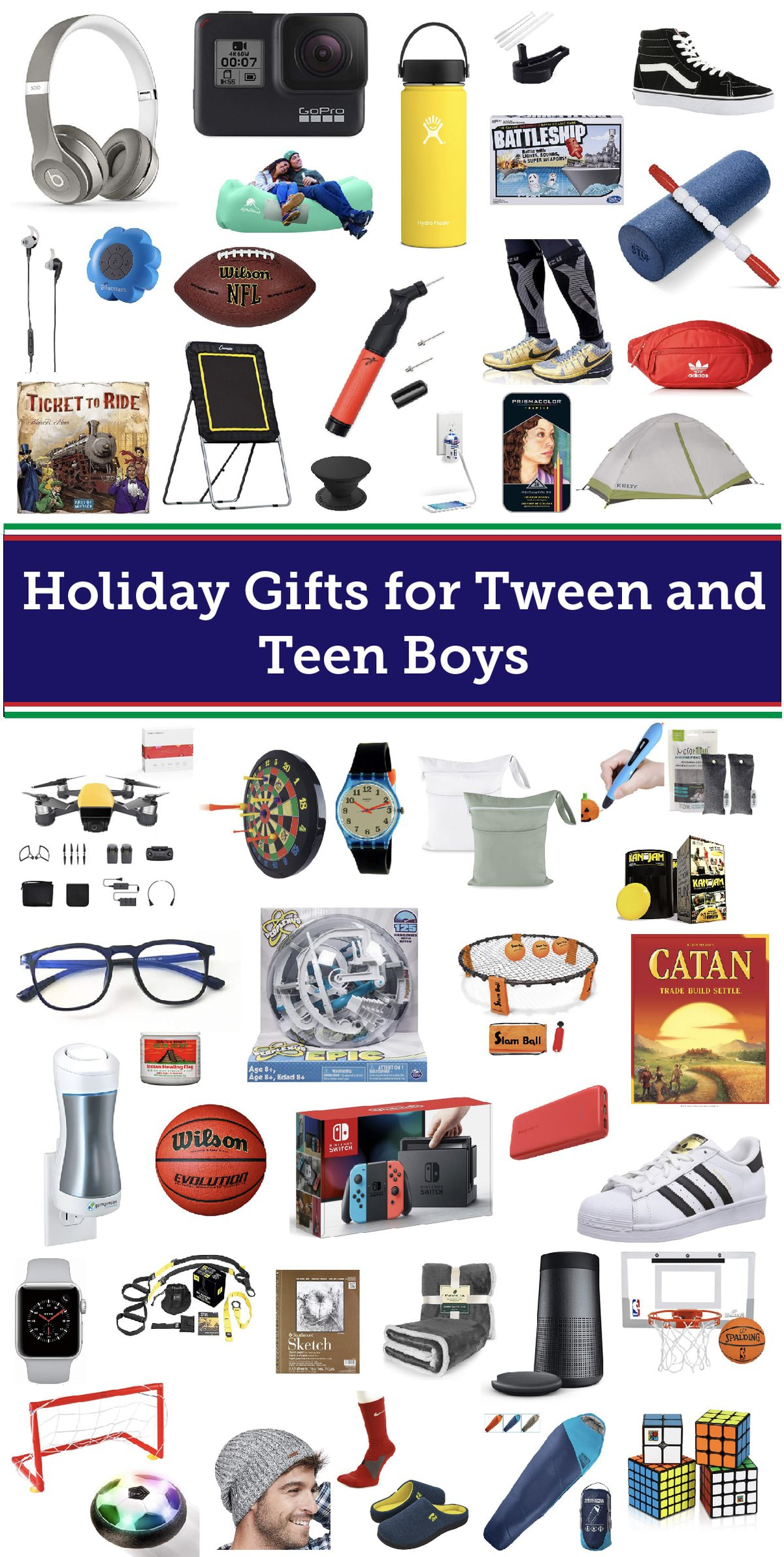 Best Gifts for Tween and Teen Boys | Baked Bree