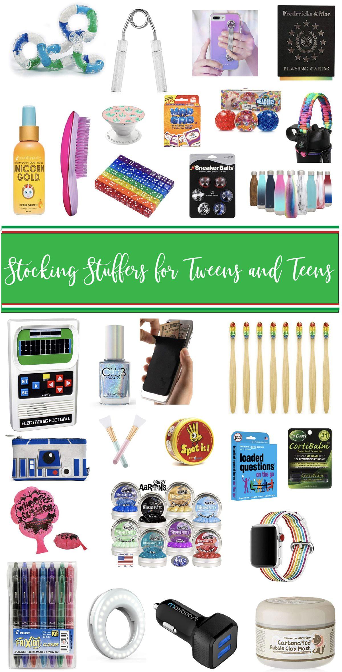 Best Stocking Stuffers for Tweens and Teens