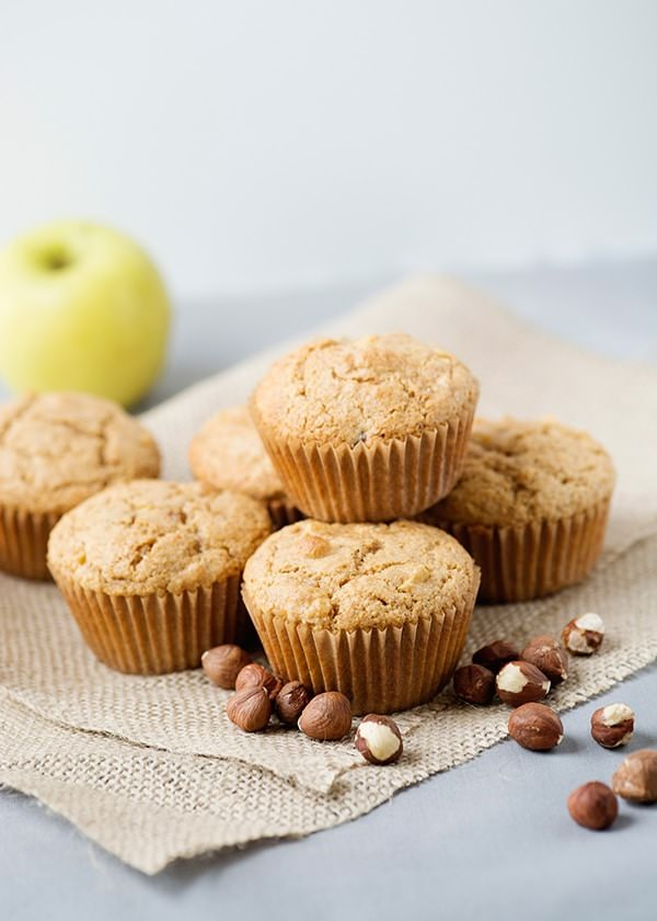Apple Biscoff Hazelnut Muffins