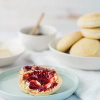 Homemade English Muffins - Huckleberry Cafe English Muffins