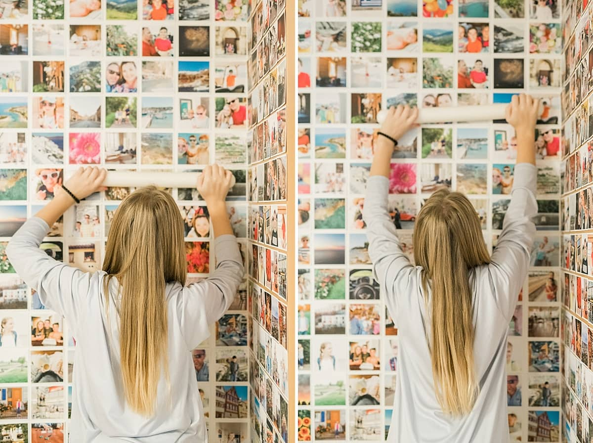 Kitchen Photo Wall