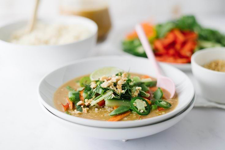 Easy Thai Curry Rice Bowls