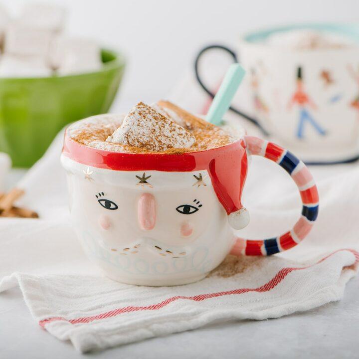 Cinnamon Vanilla Bean Marshmallows