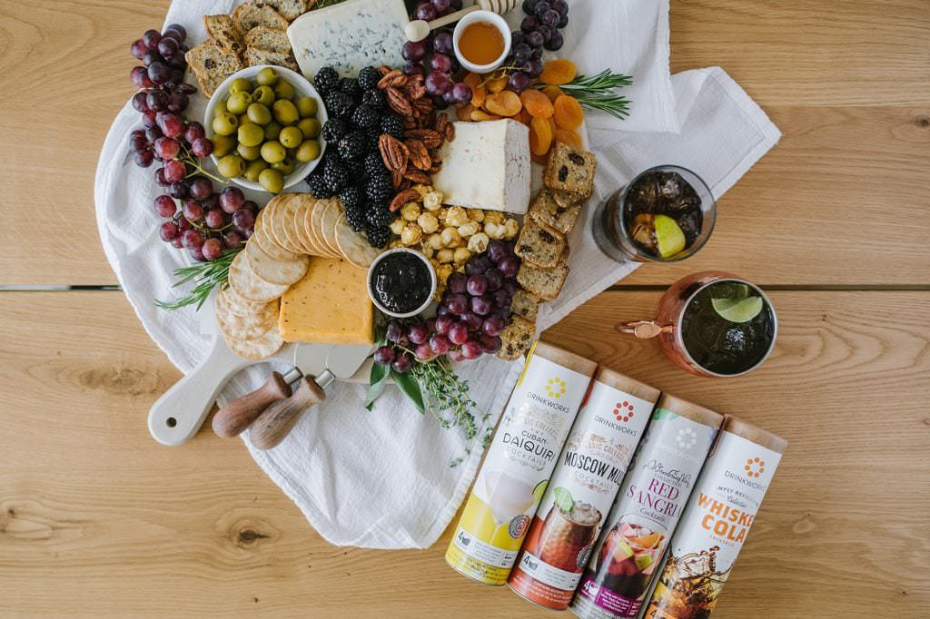 cheeseboard and drinkworks pods