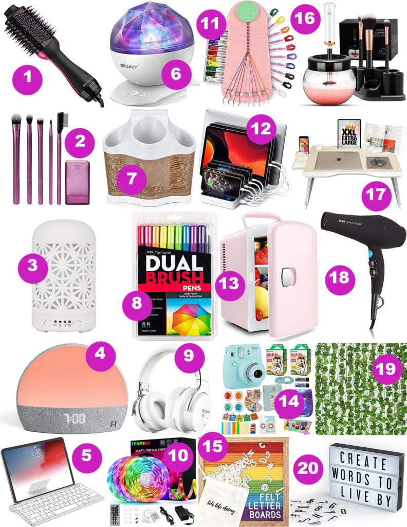 top half gift guide for teen girls