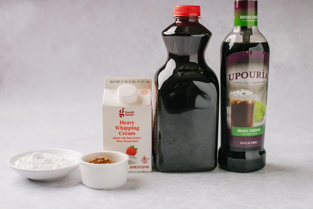 ingredients for making cold cream cold brew