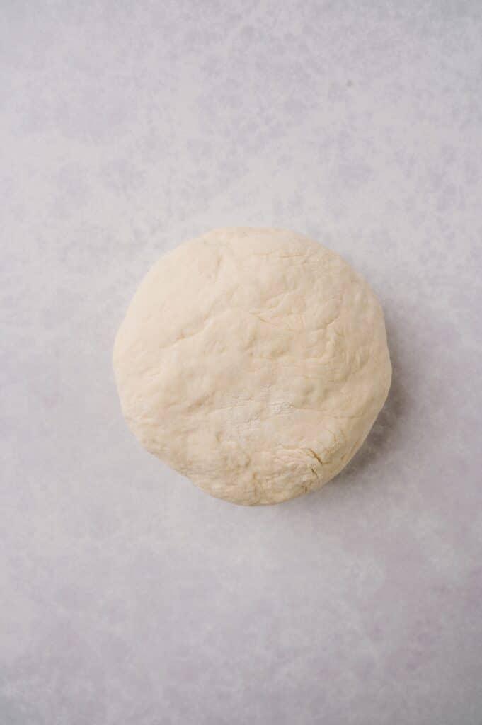 a ball of matzah dough